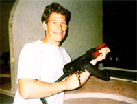 Tim with AK-47